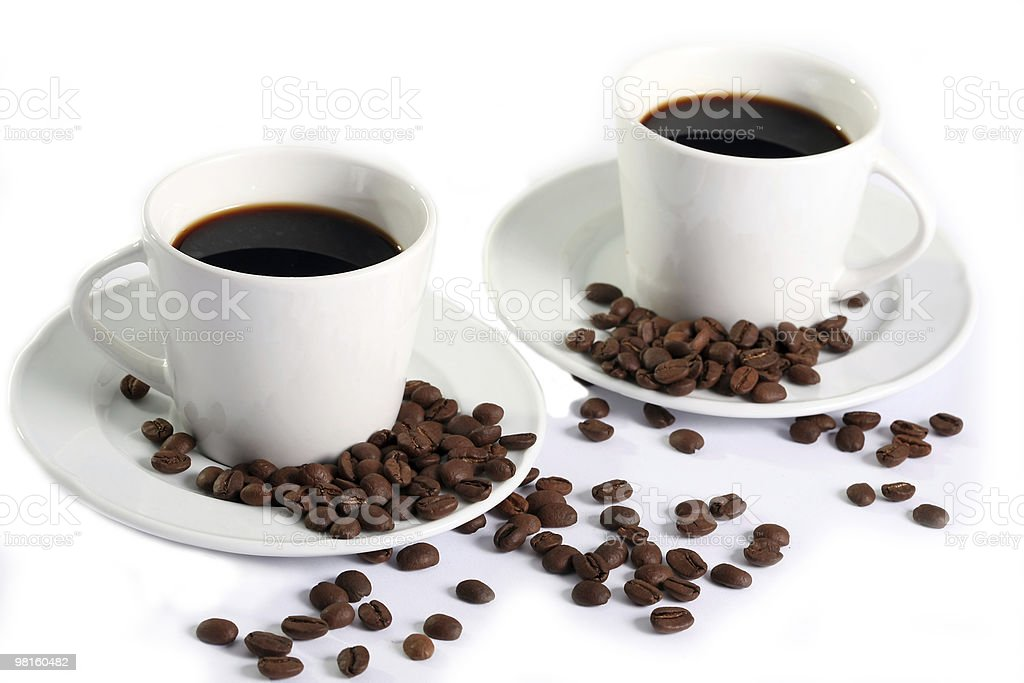 coffee composition royalty-free stock photo