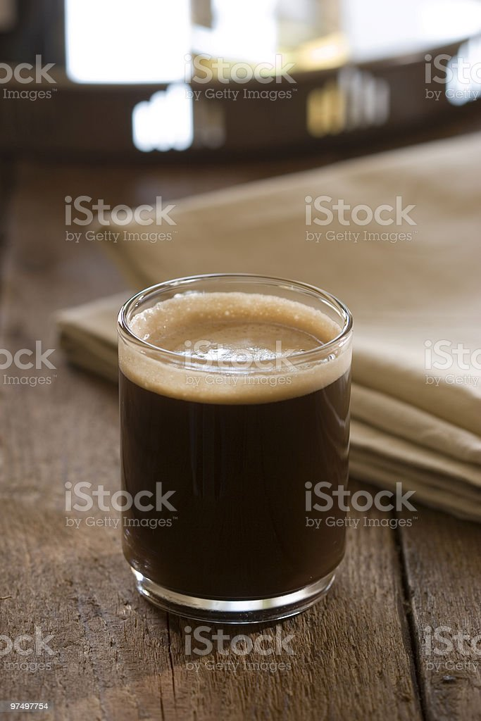 coffee crema royalty-free stock photo