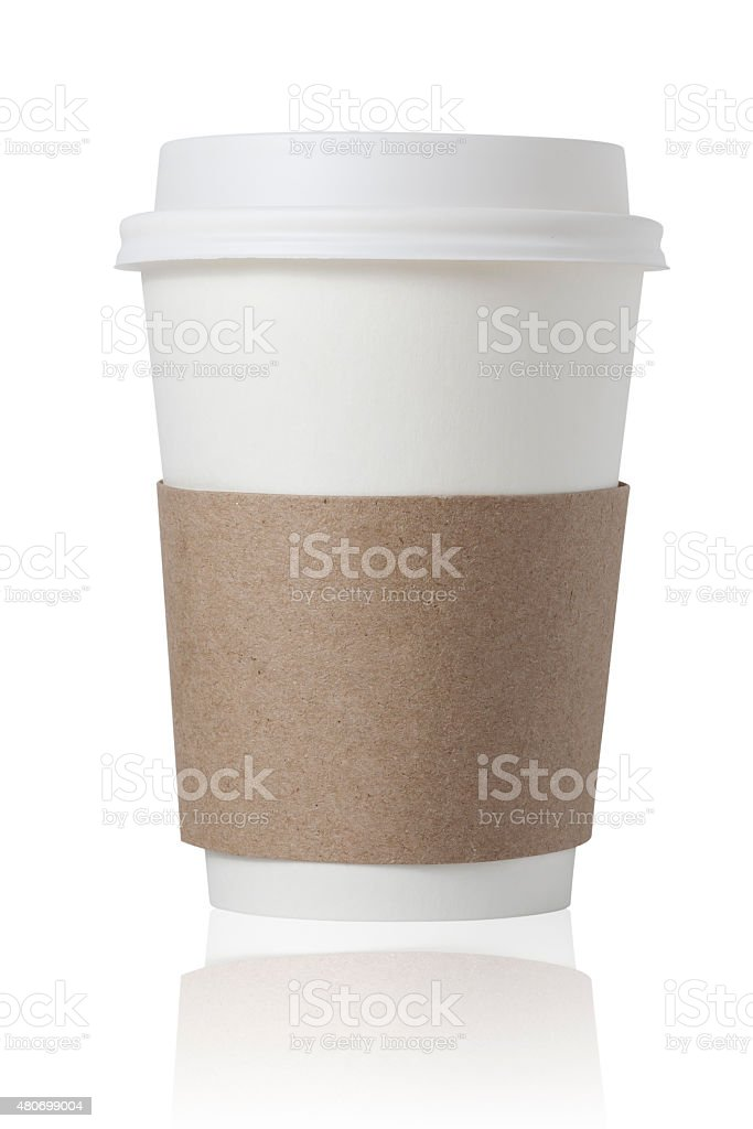 Coffee Cup for Take-Out stock photo