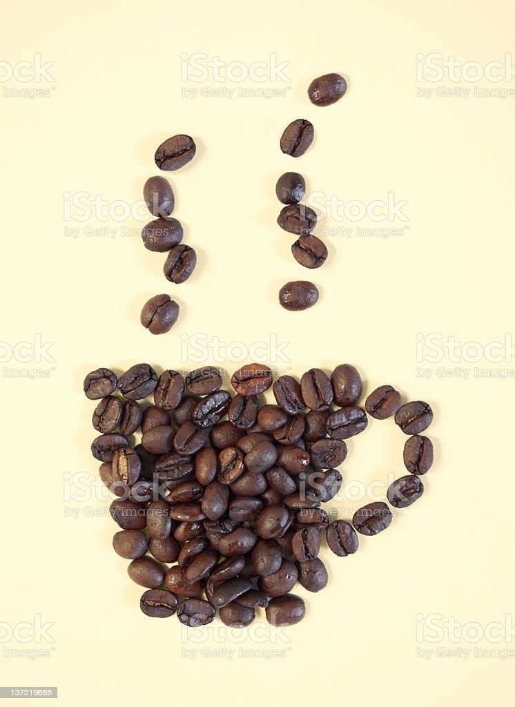 Coffee cup icon royalty-free stock photo