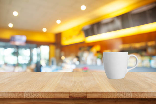 kaffeetass'im coffee shop  - www kaffee oder tee stock-fotos und bilder
