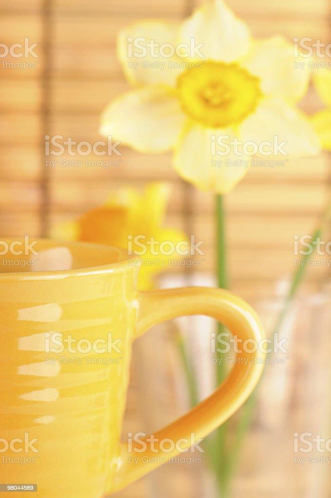 커피잔을 아침입니다 있는 royalty-free 스톡 사진