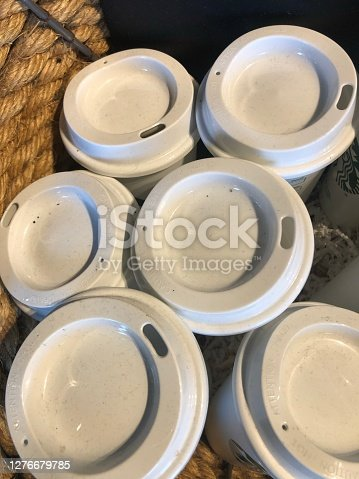Coffee cup lids