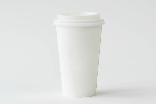 coffee cup mockup - paper coffee cup stock photos and pictures