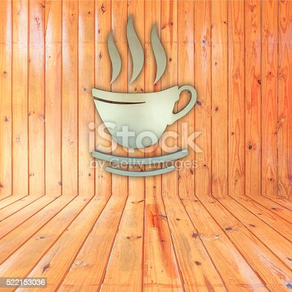 519529874 istock photo coffee cup on wooden wall 522153036