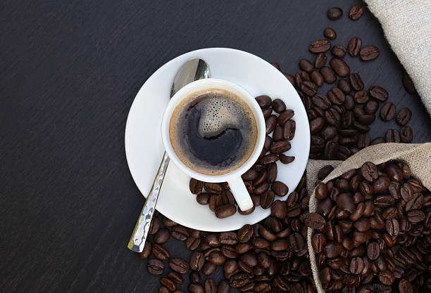 coffee kaffeetasse - leitner stock-fotos und bilder