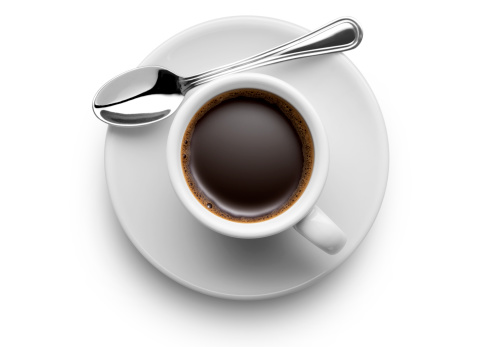 Coffee cup. Photo with clipping path. To see more Coffee images click on the link below: