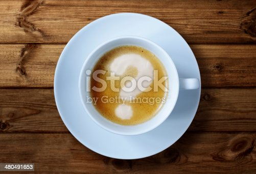 istock Coffee cup questions 480491653