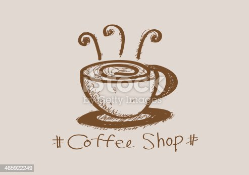 istock Coffee cup set or Tea cups icon collection design 465922249