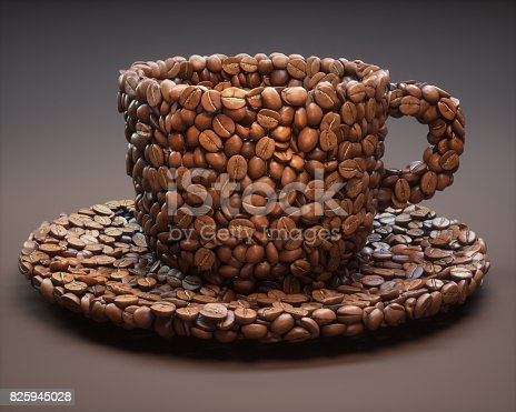 842365806 istock photo Coffee Cup Shape / Clipping Path 825945028