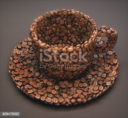 842365806 istock photo Coffee Cup Shape / Clipping Path 826475032