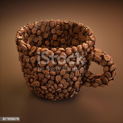 842365806 istock photo Coffee Cup Shape / Clipping Path 827659076