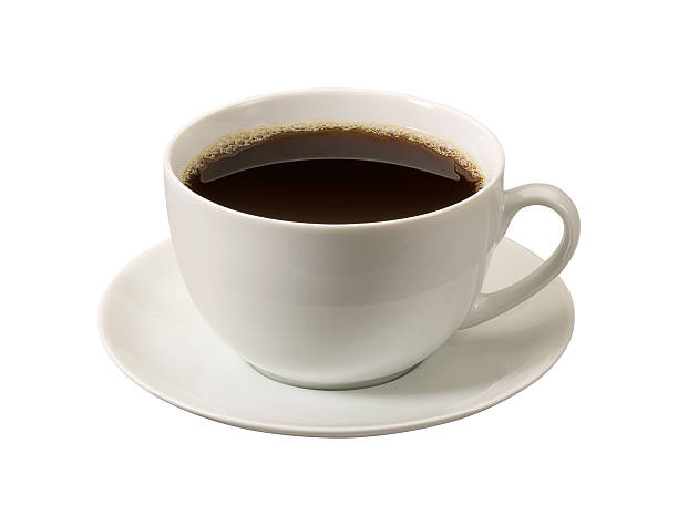 Coffee Cup with a clipping path stock photo