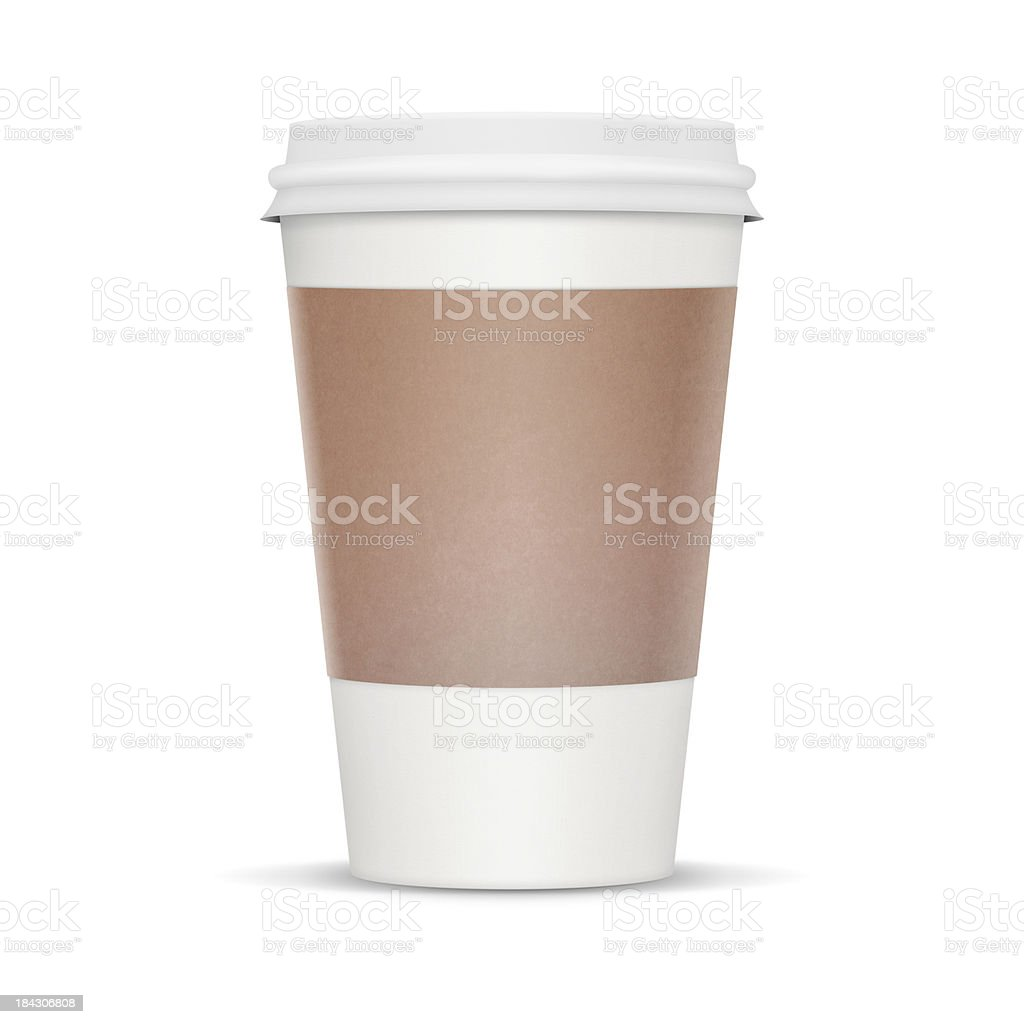 Coffee Cup - XL stock photo