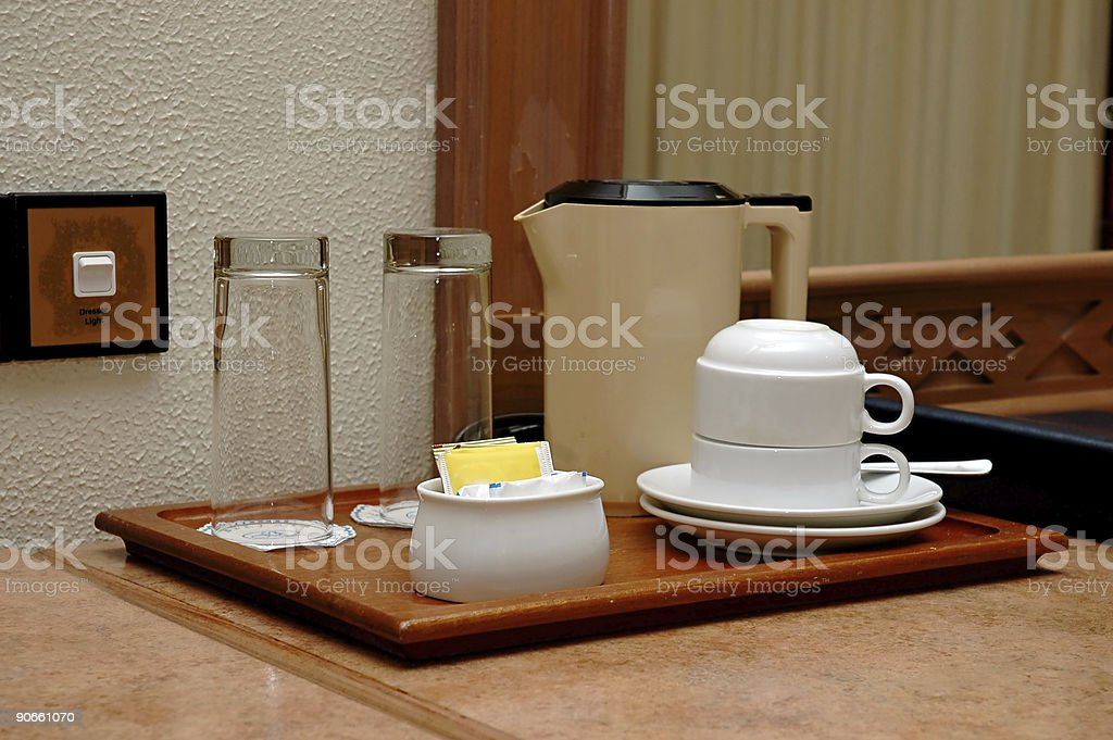 Coffee cups royalty-free stock photo
