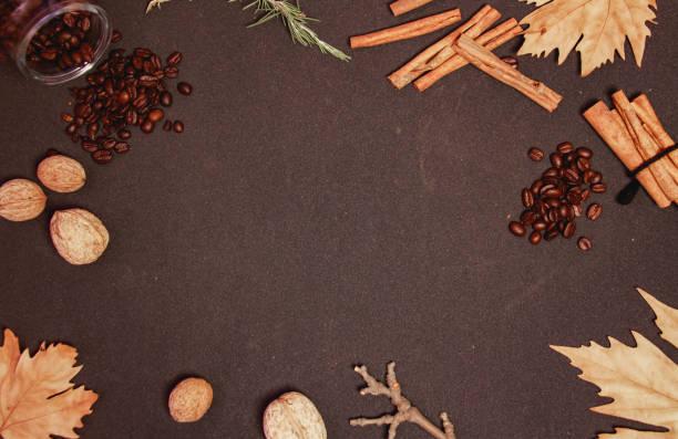 Coffee decoration stock photo