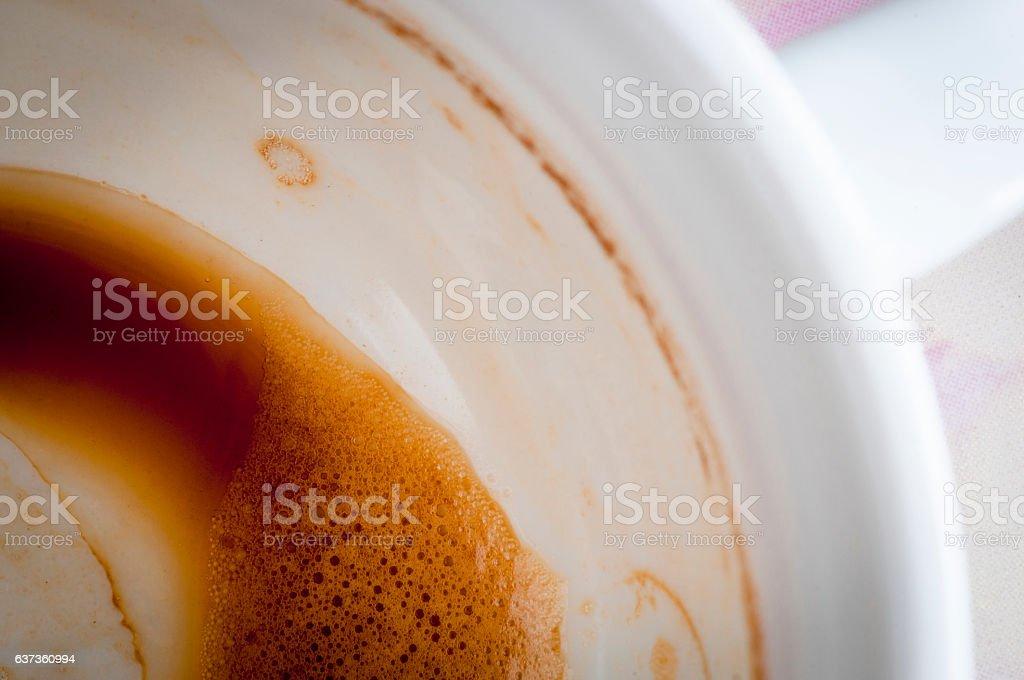 Coffee Dregs stock photo