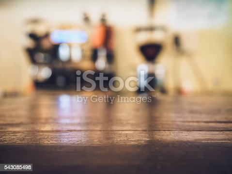 istock Coffee Drip with top Table counter Bar Cafe Restaurant 543085498