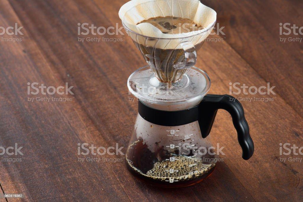 jogo de café drippng - Foto de stock de Antigo royalty-free