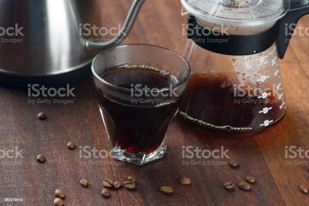coffee drippng set - Royalty-free Bar - Drink Establishment Stock Photo