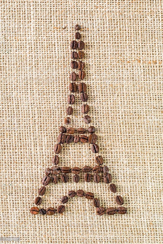Und Kaffee Eiffelturm – Foto