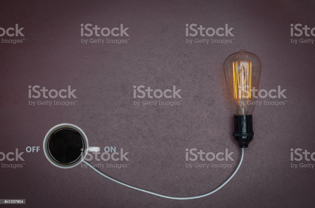 Coffee energy stock photo