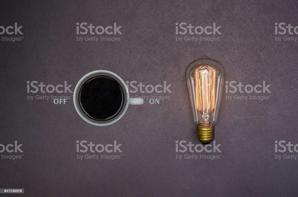 Coffee energy stock photo
