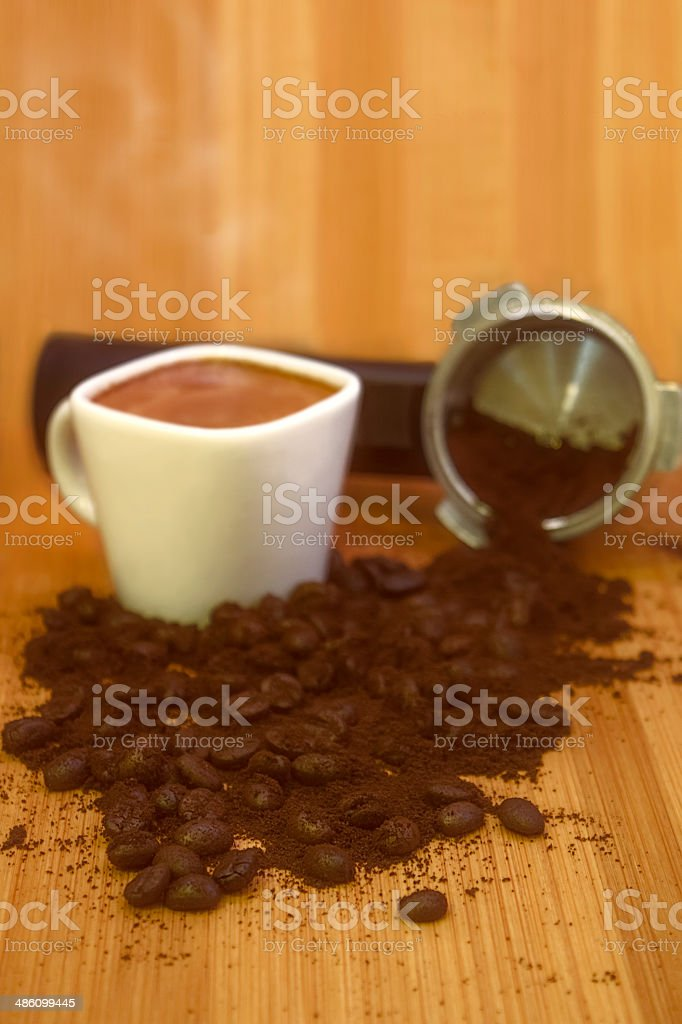 Coffee Espresso Breakfast stock photo