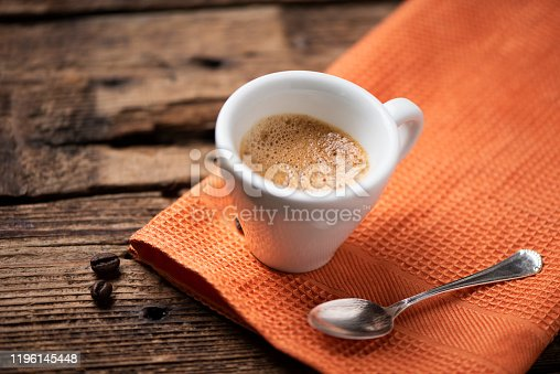 Coffee Espresso cup close up