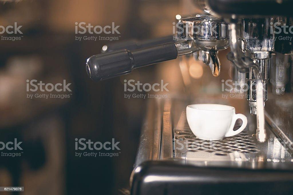 Coffee Espresso Espresso Machine Making Coffee Golden