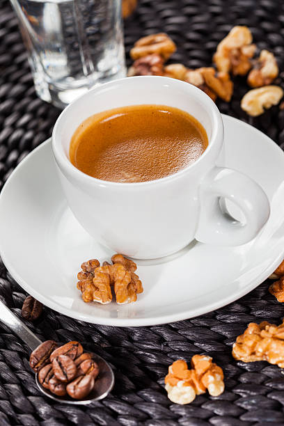 Kaffee, espresso, nussigen Geschmack – Foto
