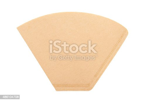 istock Coffee filter 486104708