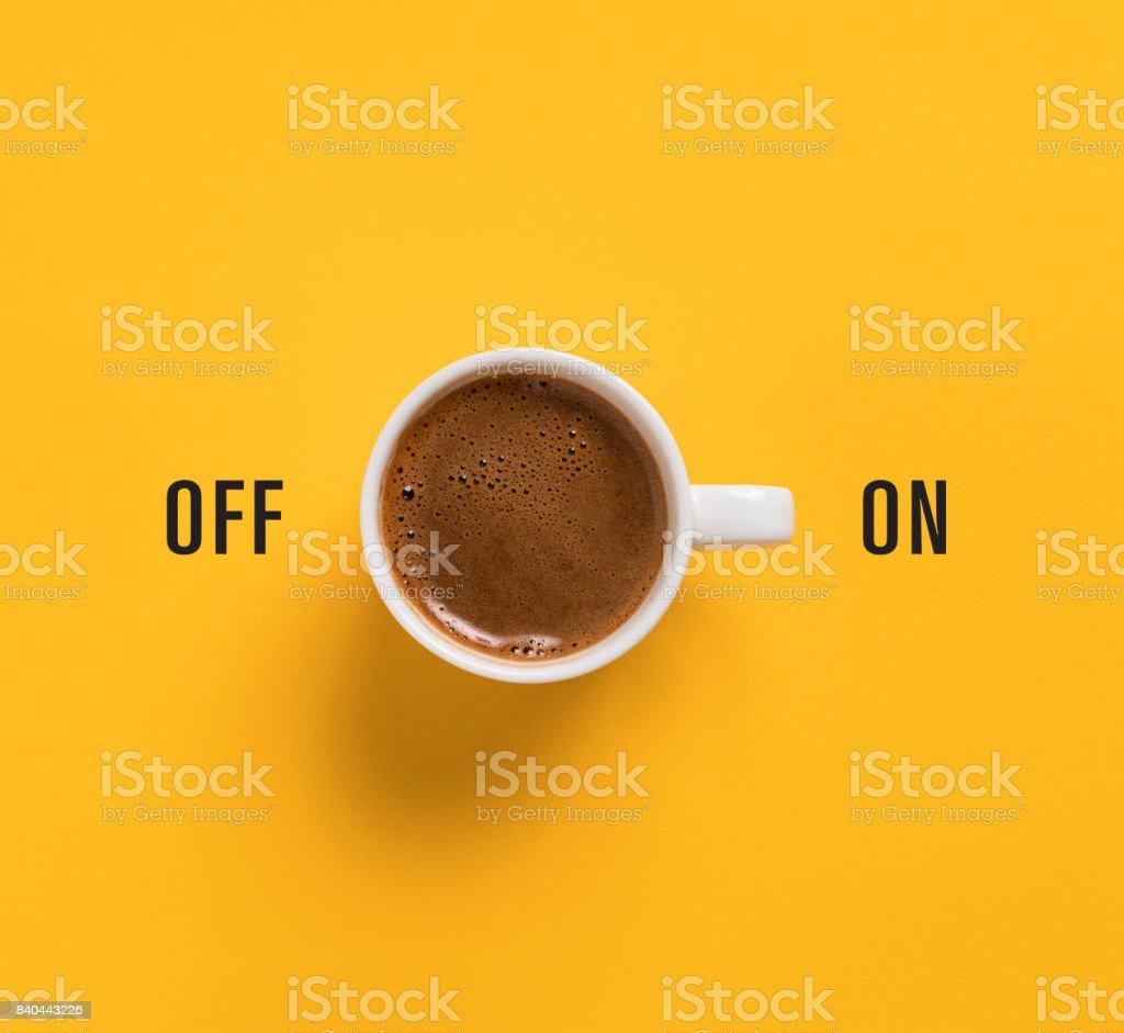 朝のコーヒー ストックフォト