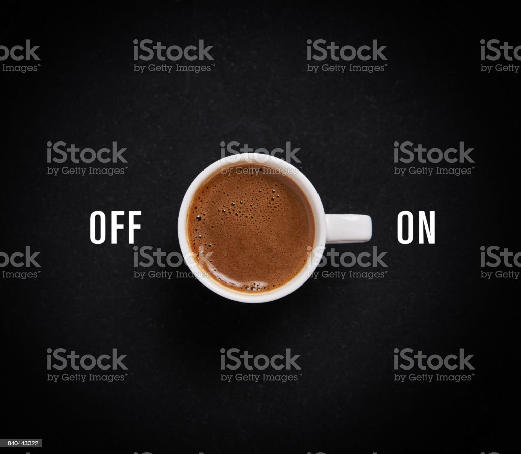 Coffee for morning stock photo