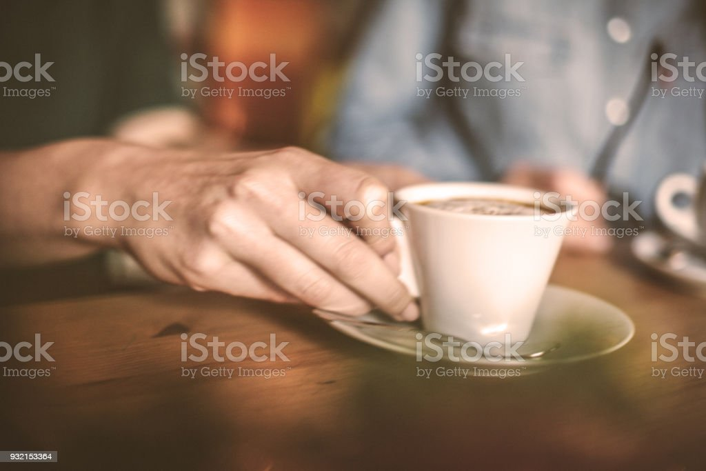 Coffee for relax. stock photo