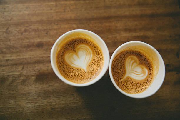 Kaffee für zwei Personen – Foto