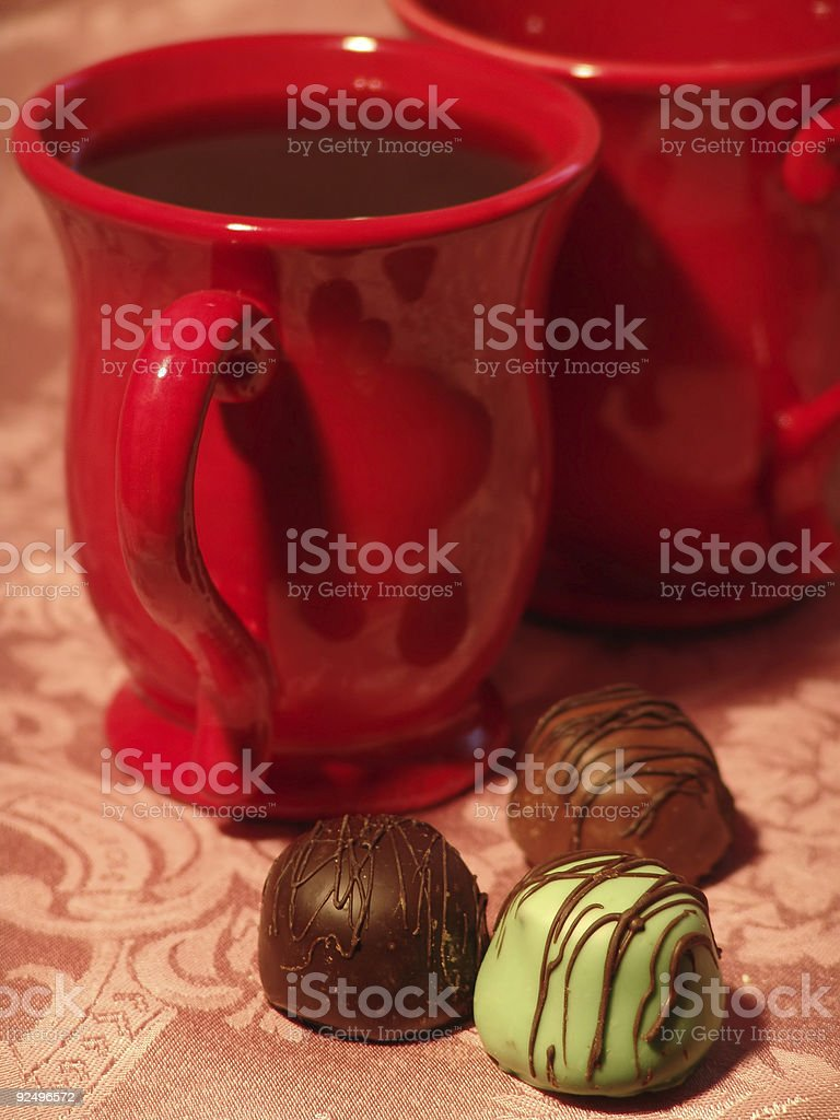 Coffee for Two royalty-free stock photo
