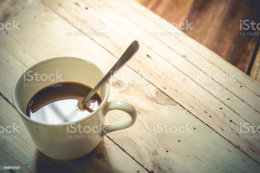 Coffee Good moring stock photo