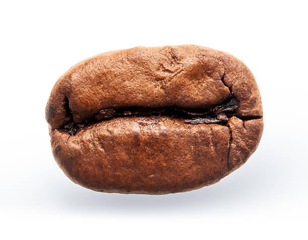 Kaffee-grain-isoliert auf weißem Hintergrund – Foto