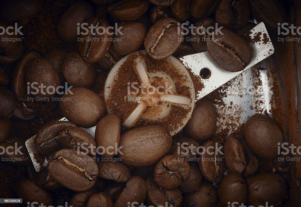 커피 곡물 처리 royalty-free 스톡 사진