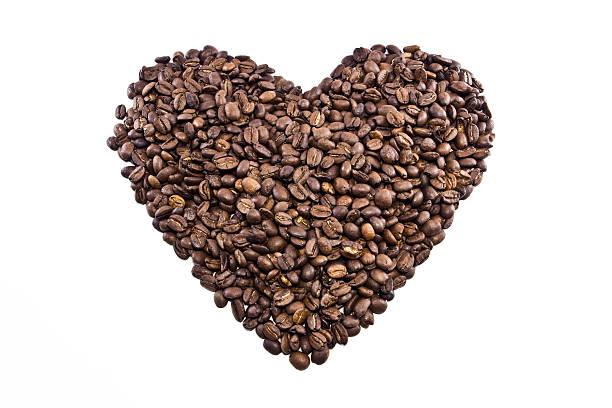 Kaffee-Herz – Foto