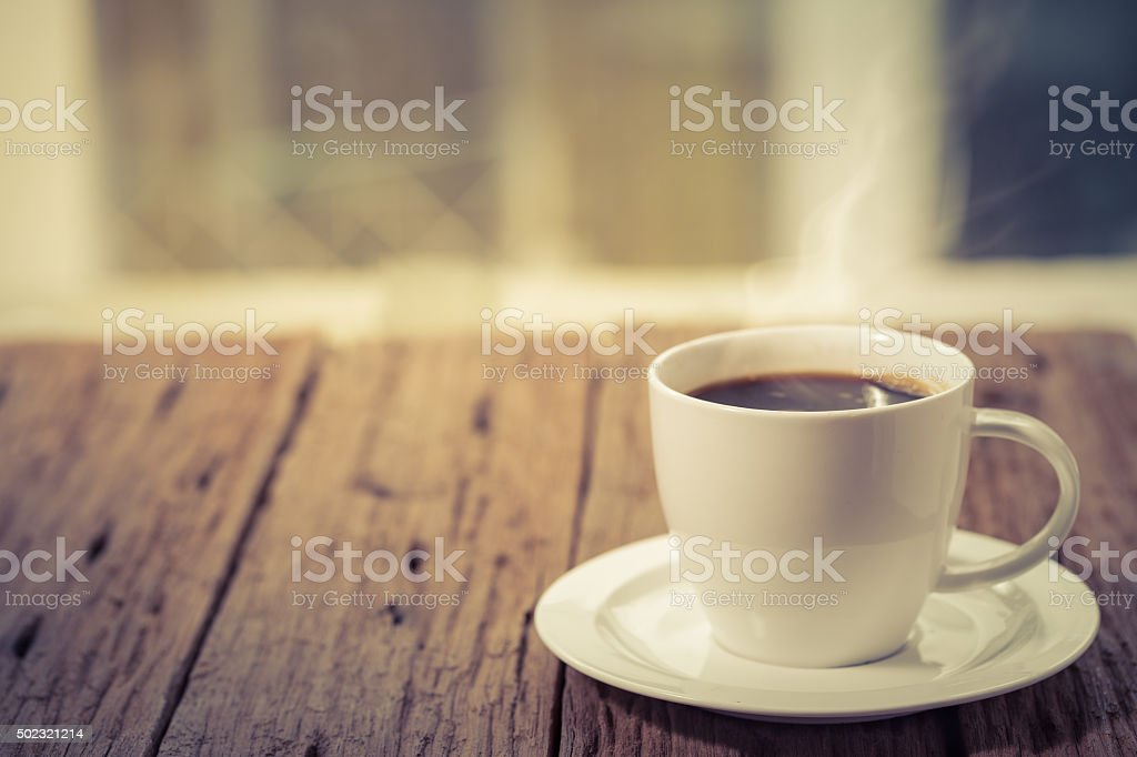 Coffee hot cup stock photo