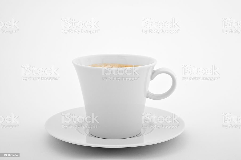 Coffee In  Conical Cup royalty-free stock photo