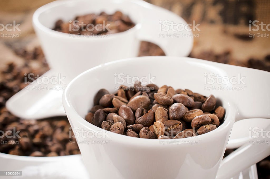 Coffee in cup royalty-free stock photo
