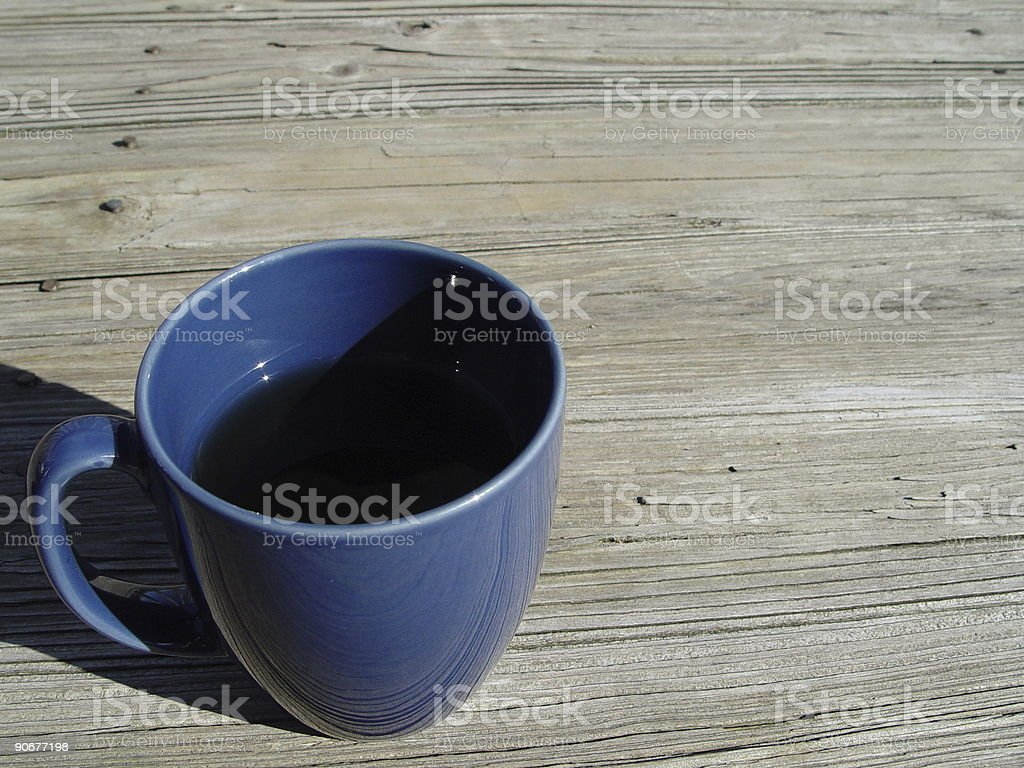 coffee in nature royalty-free stock photo