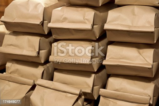 istock coffee in paper bags 174949077