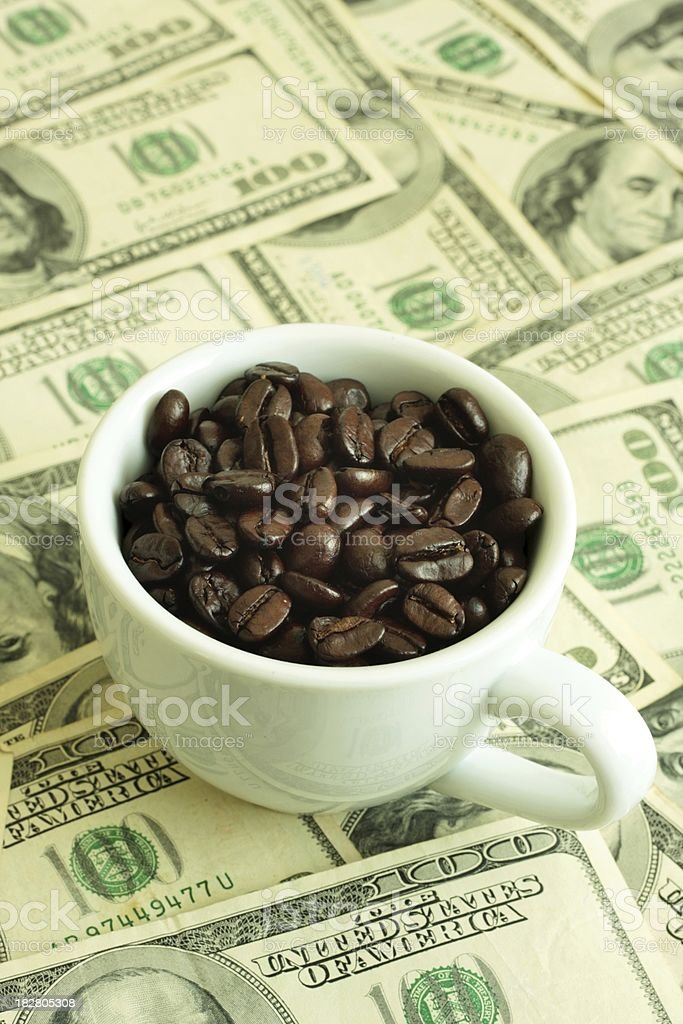 Coffee Investment stock photo