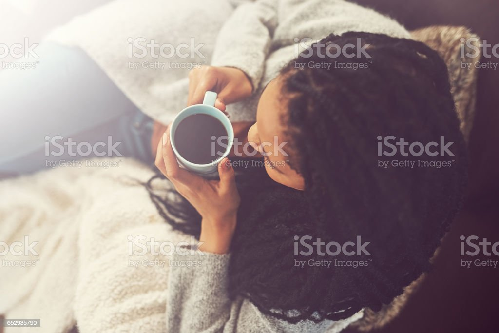 Coffee is my BFF stock photo