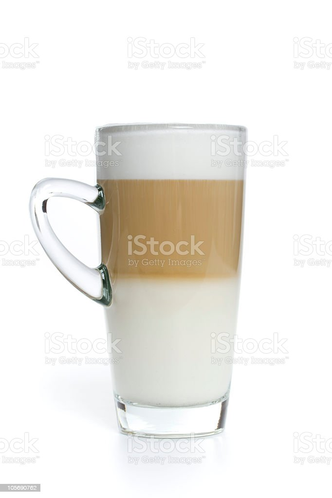 coffee latte royalty-free stock photo