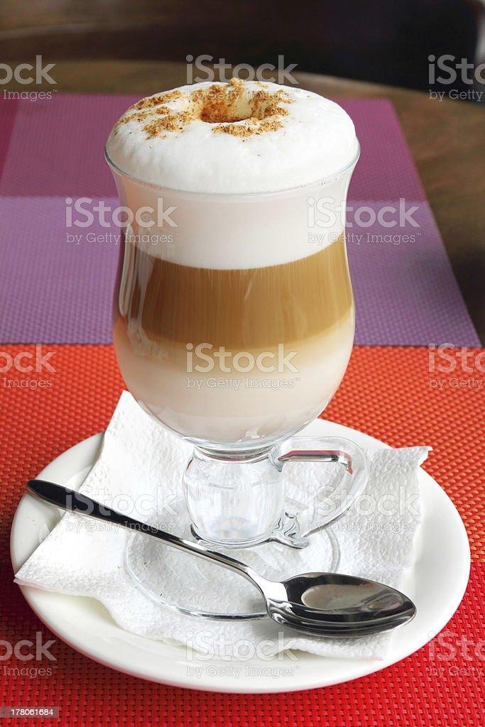 Coffee Latte royalty-free stock photo